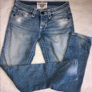 Big Star Women Jean Shorts- Size 27- Vintage